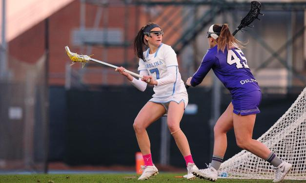 Tar Heels Cruise Past High Point for First Women's Lacrosse Victory of 2018