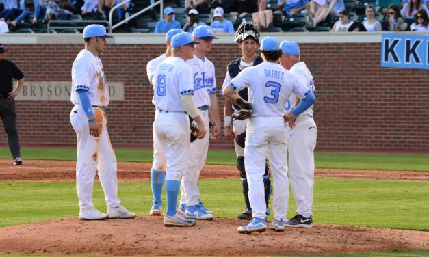 ECU Holds UNC Baseball to Just Two Hits, Takes Series Opener 2-1