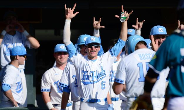 No. 6 UNC Baseball Holds Off ECU For 5-4 Victory in Durham, Sets Up Series Rubber Match on Sunday