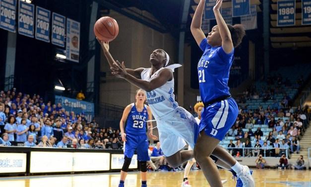 No. 20 Duke Rolls Past UNC Women's Basketball at Cameron Indoor, Tar Heels Finish Regular Season on Nine-Game Losing Skid