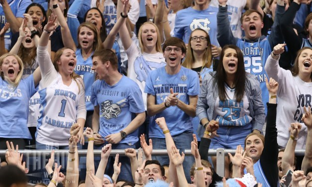 UNC No. 2 Seed in NCAA Tournament