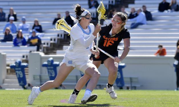 No. 4 Florida Delivers No. 3 UNC Women's Lacrosse a 17-10 Blowout Loss