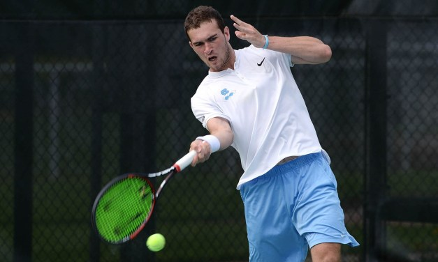 William Blumberg Cruises Into Second Round of NCAA Men's Tennis Singles Tournament