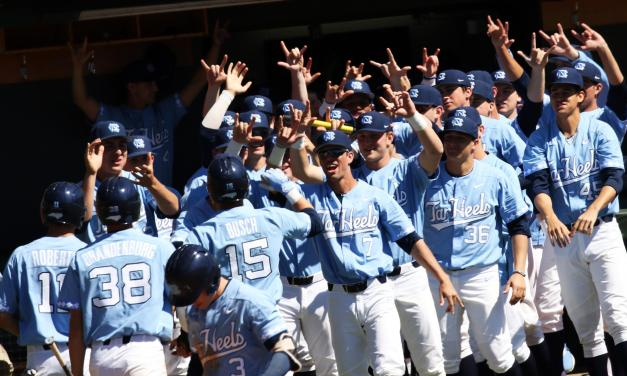 UNC Baseball Completes Sweep of Pittsburgh With 13-2 Blowout Win