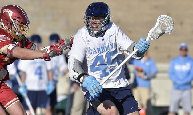 No. 2 Maryland Delivers UNC Men's Lax a Fourth Consecutive Loss