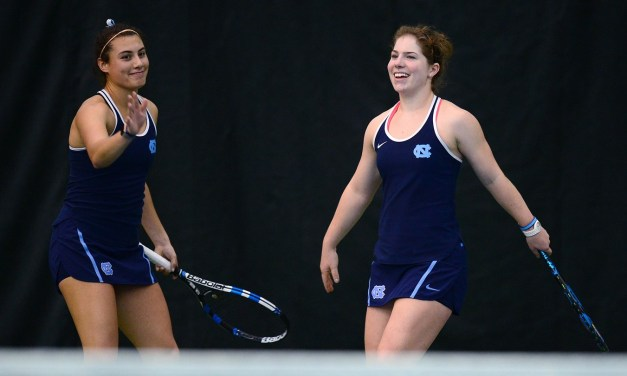 Women's Tennis: UNC's Jessie Aney and Alexa Graham Take Over No. 1 Doubles Ranking