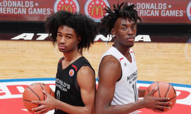 UNC Basketball Commits Coby White and Nassir Little Named USA Today High School All-Americans