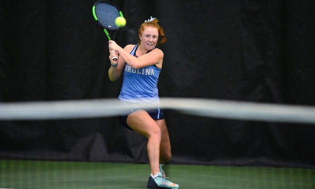 Top-Ranked UNC Women's Tennis Team Dominates in Singles Play to Defeat Notre Dame