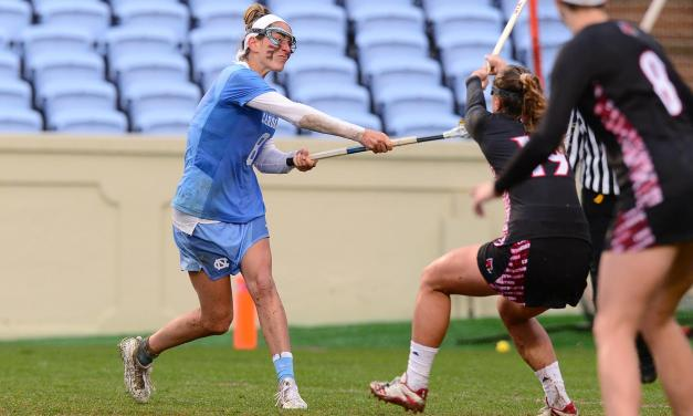 UNC Women's Lacrosse Blows Out Louisville Behind Five Goals from Katie Hoeg