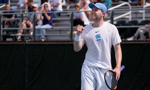 Men's Tennis: Tar Heels Roll Past Boston College