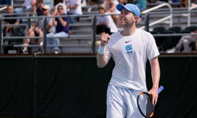 Men's Tennis: UNC Finishes Season Ranked No. 6 in Final Oracle/ITA Rankings