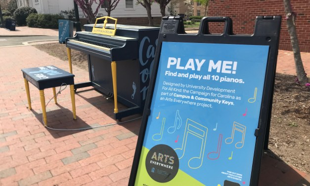 UNC Dorm Art Studio Announced at Arts Everywhere Celebration