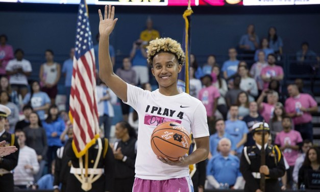 Paris Kea Earns UNC Women's Basketball Team MVP Honor