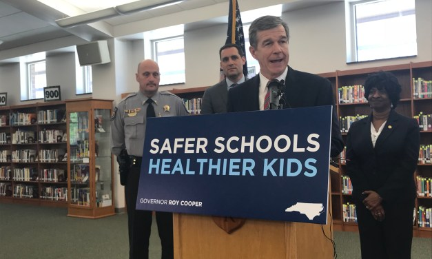 Governor Rolls Out School Safety Funding Pitch at Cedar Ridge High School