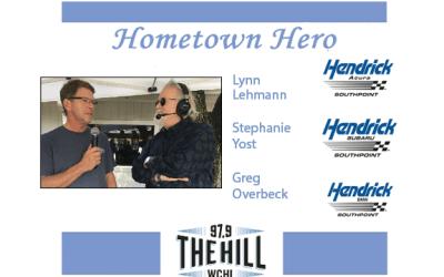 Hometown Heroes: Lynn Lehmann, Greg Overbeck, Stephanie Yost