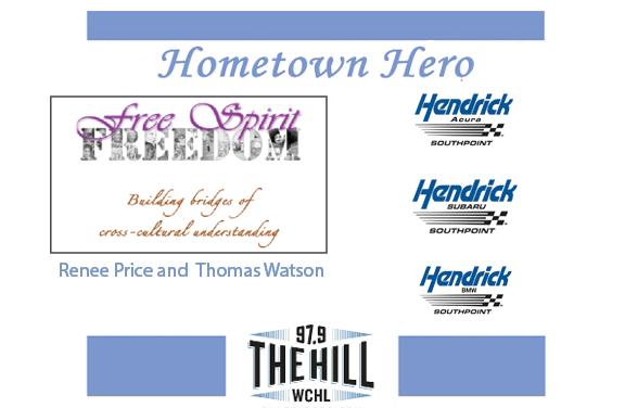 Hometown Heroes: Renee Price and Thomas Watson