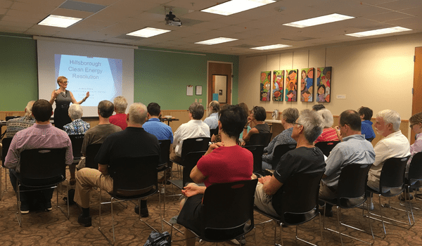 Hillsborough Commits to 100 Percent Renewable Energy Goal by 2050