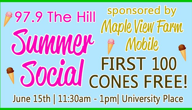 97.9 The Hill WCHL Summer Social