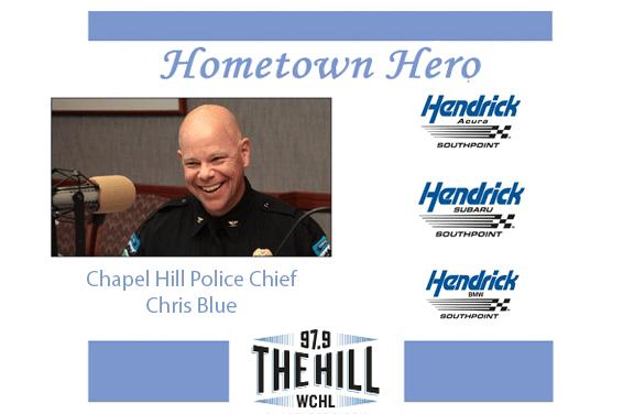Hometown Hero: Chapel Hill Police Chief Chris Blue