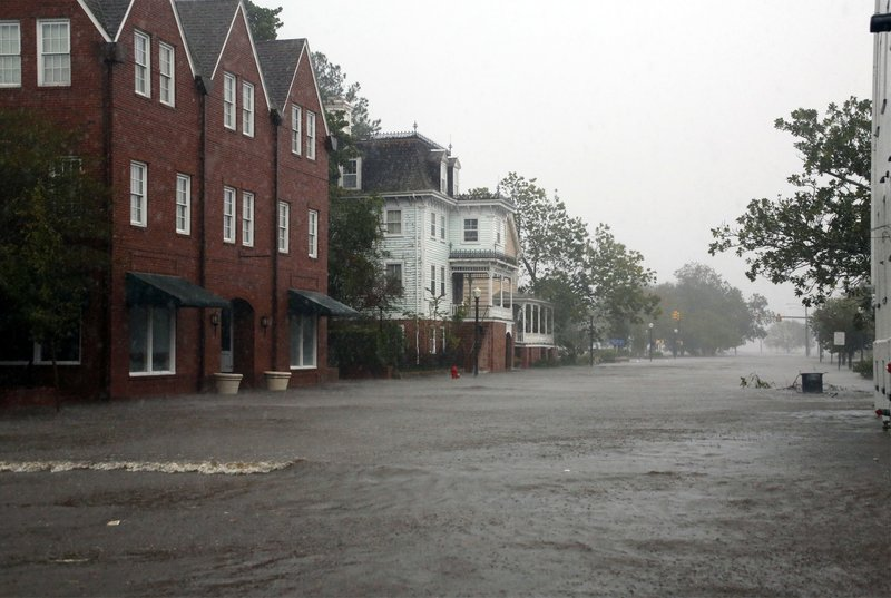 'Uninvited Brute': Hurricane Florence Pounds the Carolinas