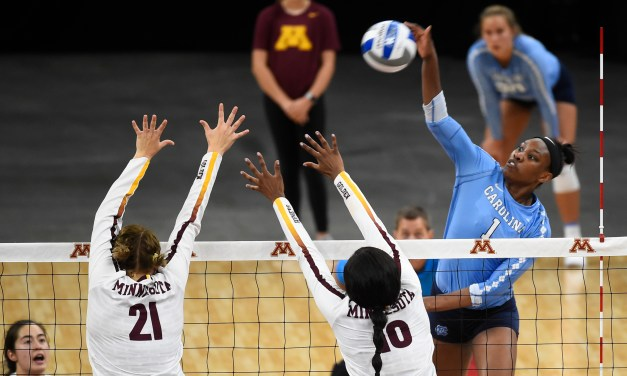 UNC Volleyball Sweeps Elon in Final Regular Season Non-Conference Match