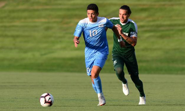 Giovanni Montesdeoca's Overtime Goal Delivers No. 3 UNC Men's Soccer Win Over No. 8 Notre Dame