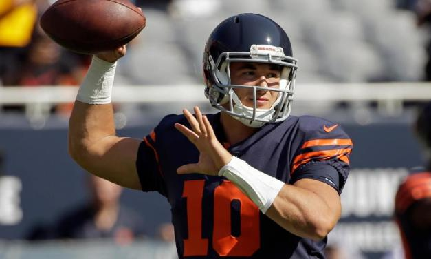 Mitchell Trubisky Named FedEx Air NFL Player of the Week
