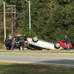 Fordham Boulevard Returned to Normal Traffic Following Overturned Vehicle