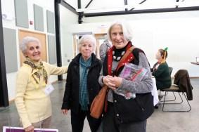 Vicki Scott, Elaine Norwood, Betsy Nininger