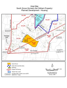 South Grove Area Plan