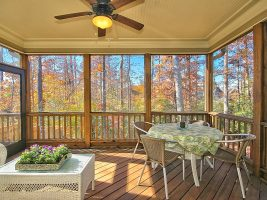Screened Porch is structural option