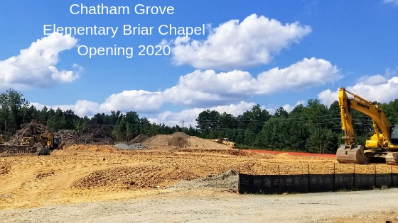 Chatham Grove Elementary Opening 2020