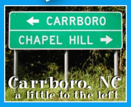 Carrboro sign
