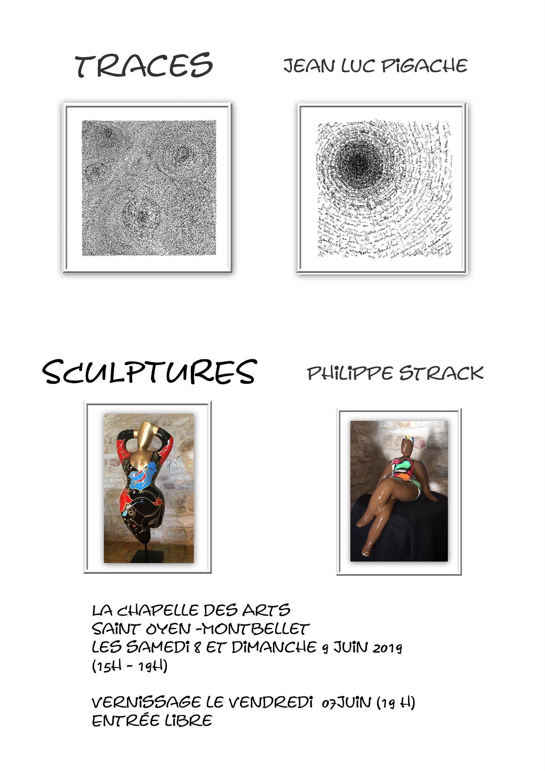 Exposition Jean Luc Pigache et Philippe Strack