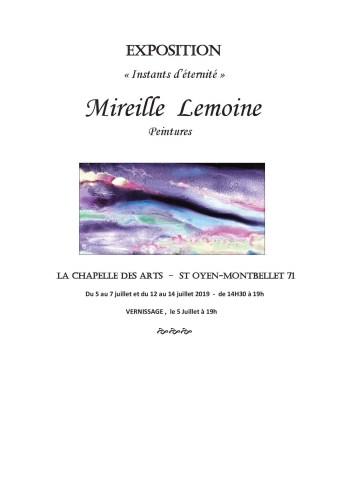 affiche LEMOINE Mireille