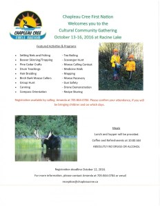 """Reclaiming the Past of our Ancestors"" 3rd Annual Canoe Trip"