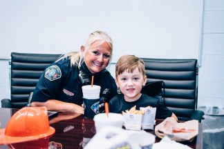 Silent Auction Lunches with Fire & Police-3