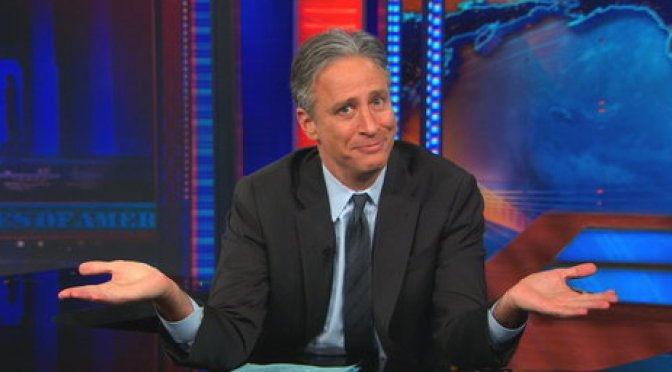 We Love You Jon Stewart