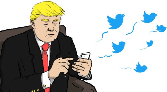 The Dumbing Down of His Tweets