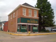 Scioto Ribber steak & BBQ restaurant, Portsmouth, OH.