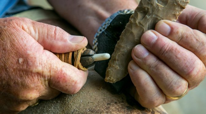 The Skill & Art of Flintknapping