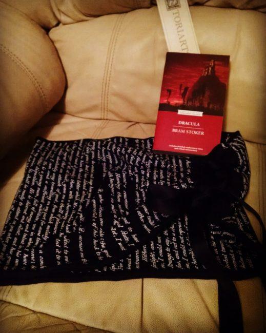 Dracula Bookish Scarf