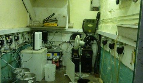 The cellar is gradually emptying...