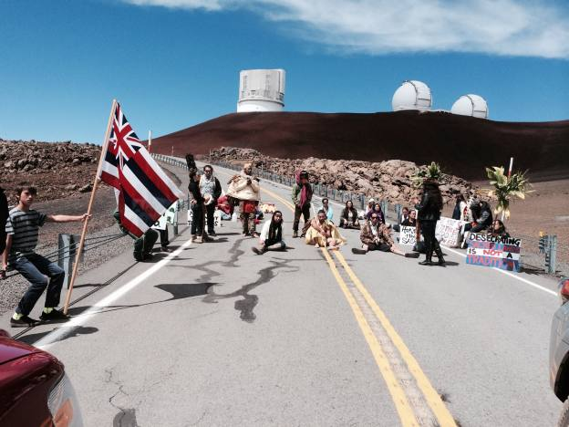 It's highly inaccurate to accuse Hawaiians of selfishly opposing western science, with 13 telescopes on Mauna Kea now.