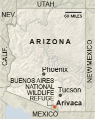 Arivaca map