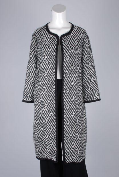 New World Geometric Jacket - Size 16 - Front