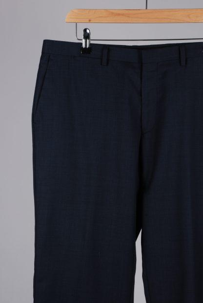 Reiss Blue 2 Piece Suit - Size 44 - Trousers Detail