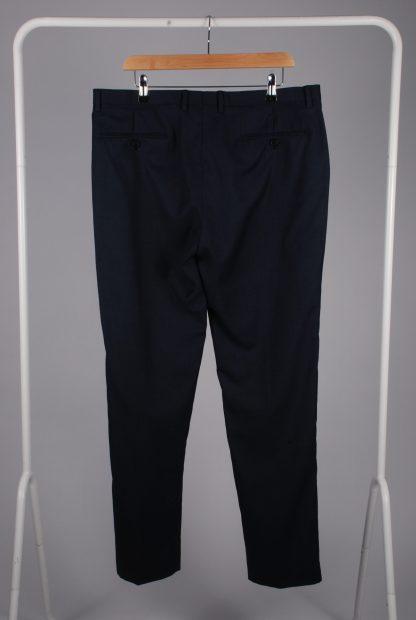 Reiss Blue 2 Piece Suit - Size 44 - Trousers Back