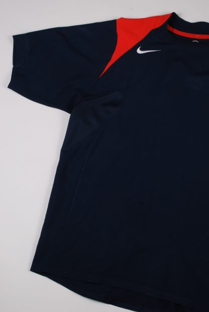 Nike Blue & Red Tee - Size M - Right