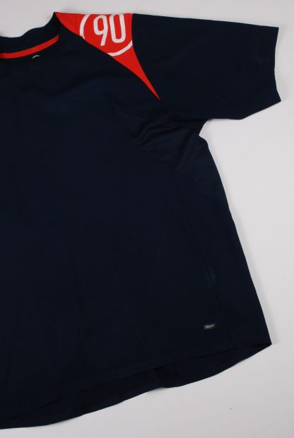 Nike Blue & Red Tee - Size M - Left